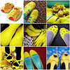 As a kid, I had a pair of yellow patent shoe that I lived to death