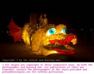 Burning Man: Creativity in mobile art