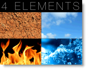 creativity and the 4 elements